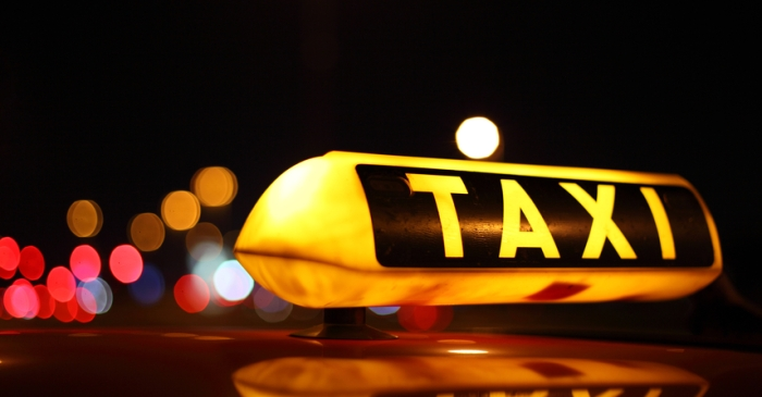 Cab driver leaves the scene of an accident and causes more damage