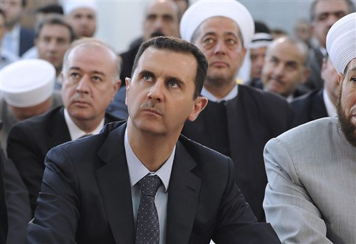 Assad regime gives first reaction to President Trump's order for military action in Syria