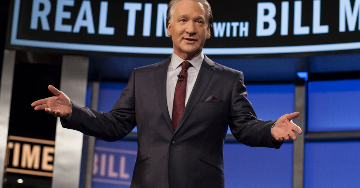 Bill Maher escapes the Kathy Griffin treatment following his use of a racial slur