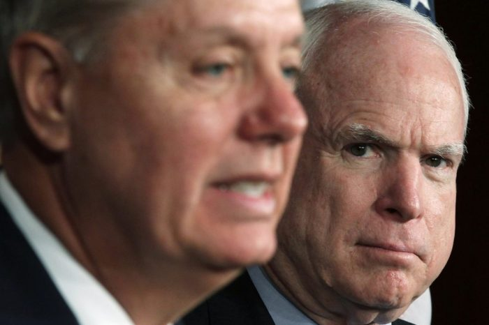 Donald Trump is right: John McCain and Lindsey Graham really are always trying to start World War III