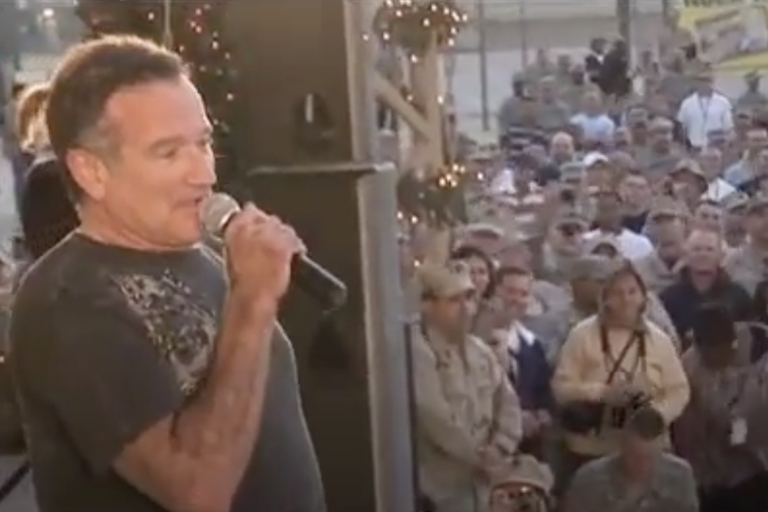 Robin Williams USO