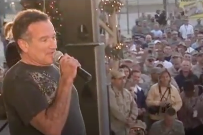 Robin Williams Worked Tirelessly for the USO to Help Our Troops