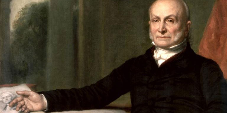 A Rare look at the U.S. Presidents: John Quincy Adams