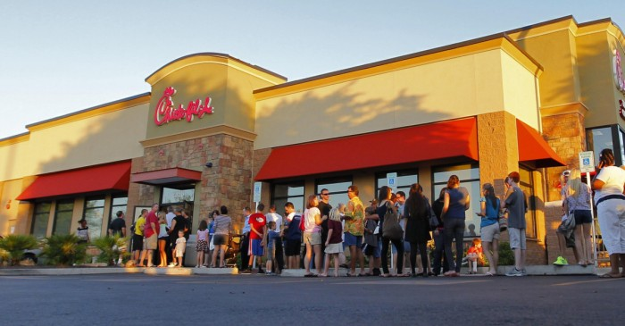 Chick-fil-A Pulls Donations from the Salvation Army After LGBTQ Backlash