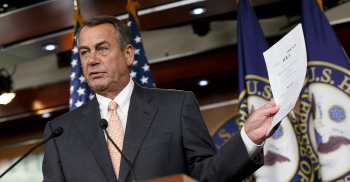 "John Boehner came out of nowhere to say the Republican Party is dead and full of ""a**holes"""