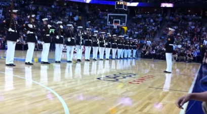 This U.S. Marine Corps Silent Drill Platoon Is Absolutely Chilling