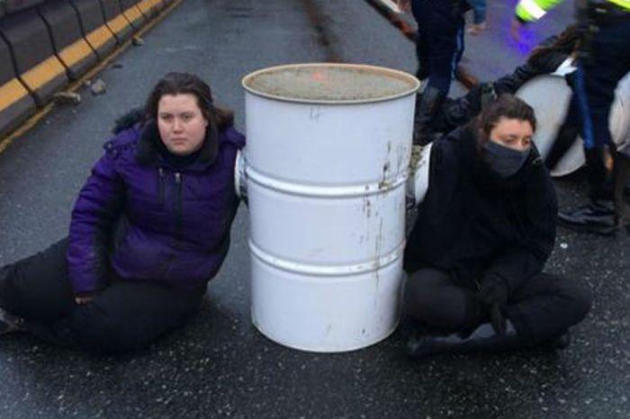 A Massachusetts legislator is hitting back hard at road-blocking anti-cop protesters