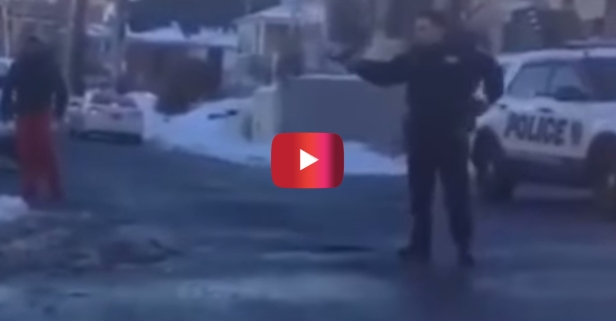 Here's why a cop pulled a gun on teens who were having a snowball fight