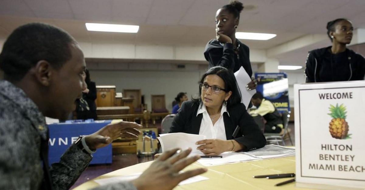 U.S. job market picks up, but unemployed face frustration