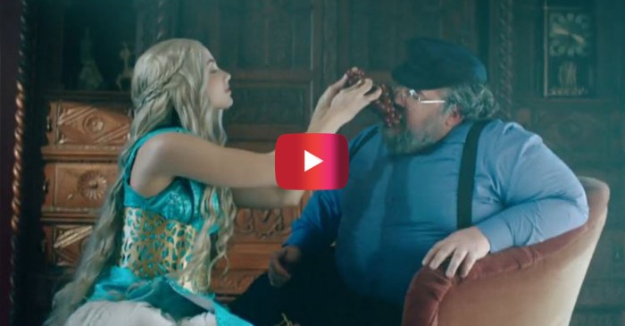 "When you mix Taylor Swift and ""Game of Thrones"" the result is awesome"