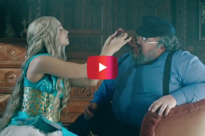 """When you mix Taylor Swift and """"Game of Thrones"""" the result is awesome"""