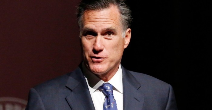 Mitt Romney may easily win his U.S. Senate race, but he's in an odd position