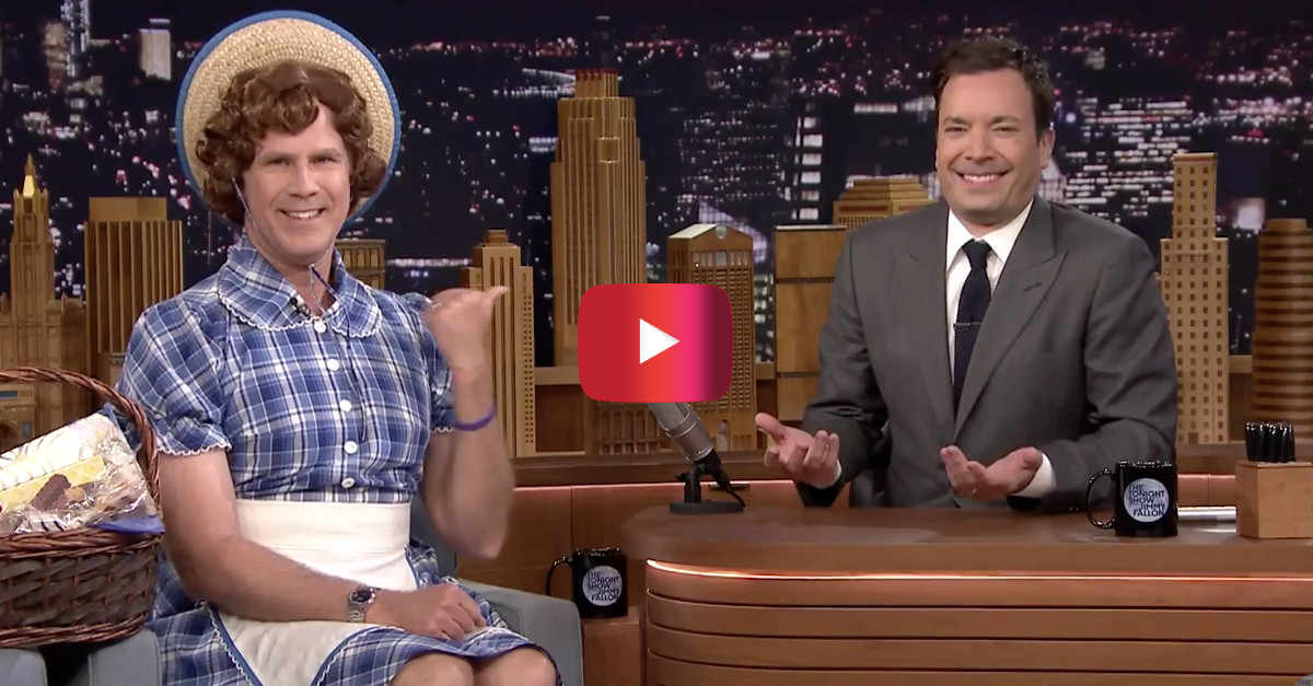 Will Ferrell is Little Debbie in the weirdest 'Get Hard' promo appearance yet