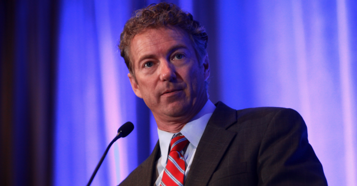 Rand Paul says no war with Syria without congressional approval
