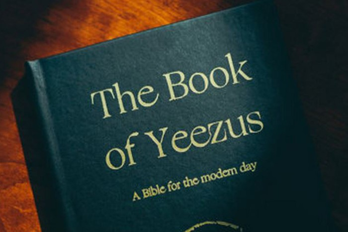This Bible replaces God with a famous rapper's name that will have you reeling