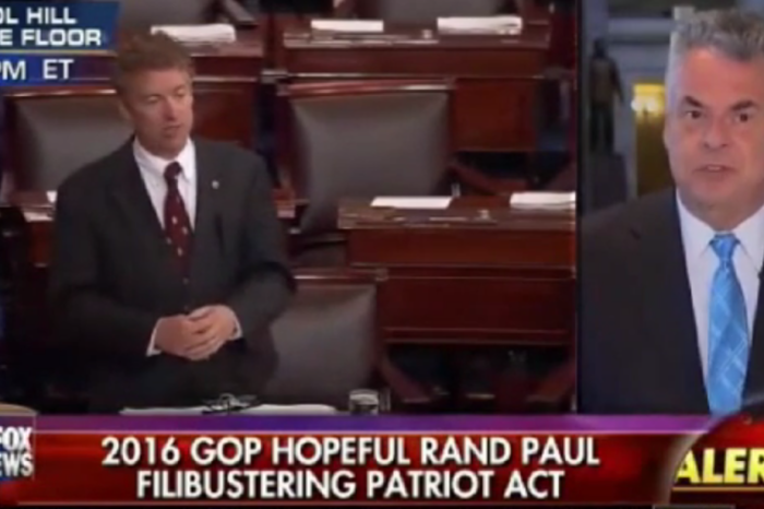"Peter King slams Rand Paul's Patriot Act filibuster as ""a disservice to the country"""