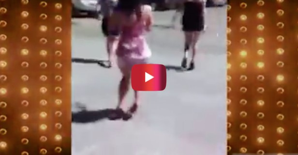 The funny way sexy Las Vegas girls walk has been put to music and you will love it