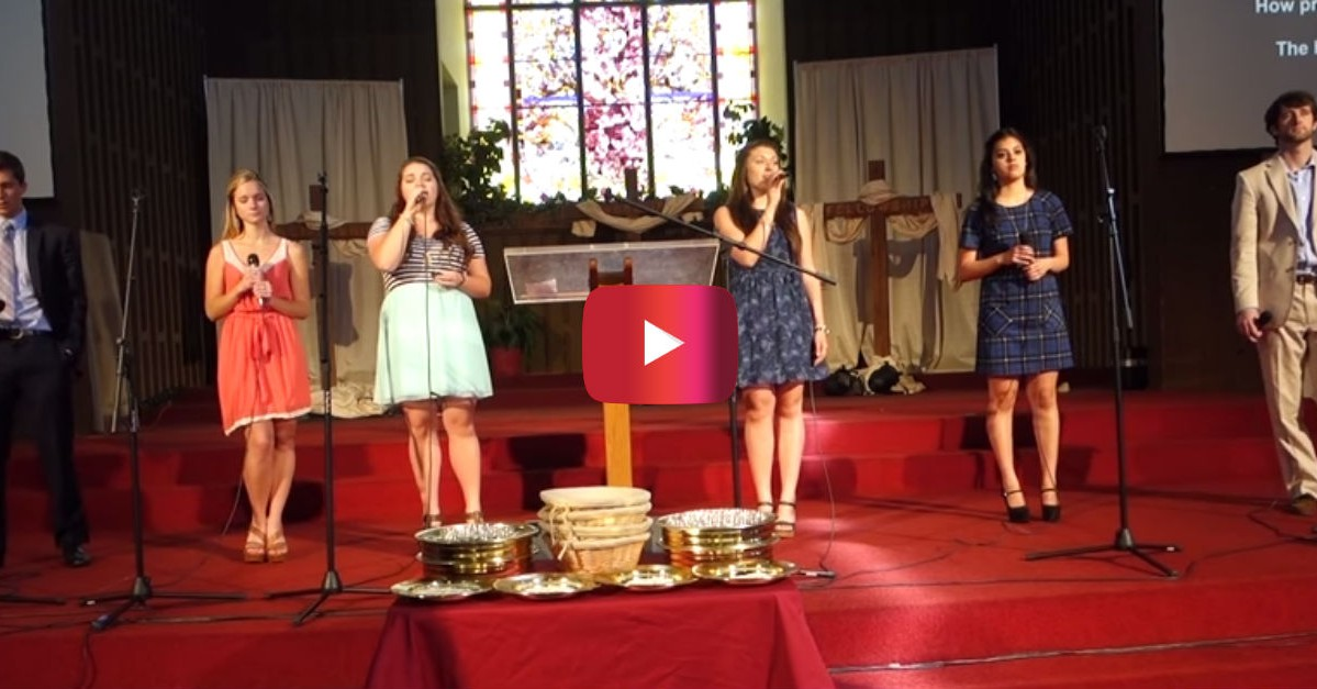 "Watch this Christian a cappella group sing an amazing version of ""Amazing Grace"""