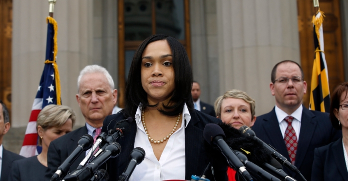 Find out why Baltimore's top prosecutor snapped at a reporter and walked away