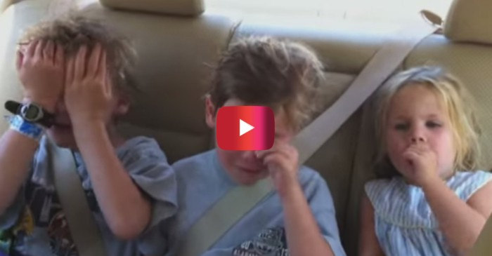 Watch this simple birthday wish turn into a huge, hilarious production