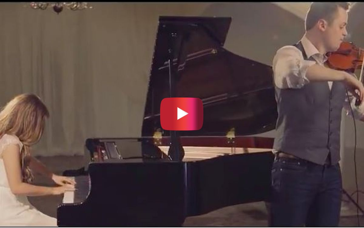 "This beautiful instrumental version of ""Hallelujah"" is breathtaking"