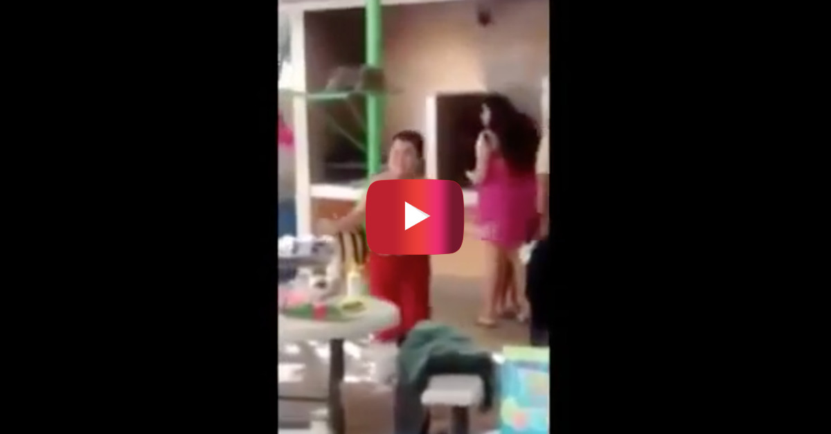 Watch this kid dance to Cuban Pete at a public swimming pool and tear it up