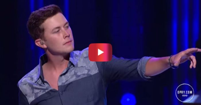 If this performance from Scotty McCreery doesn't make your jaw drop, nothing will