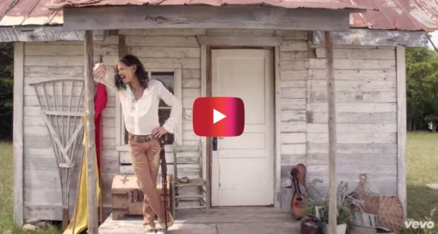 Aerosmith's Steven Tyler just released his first music video for his first country single