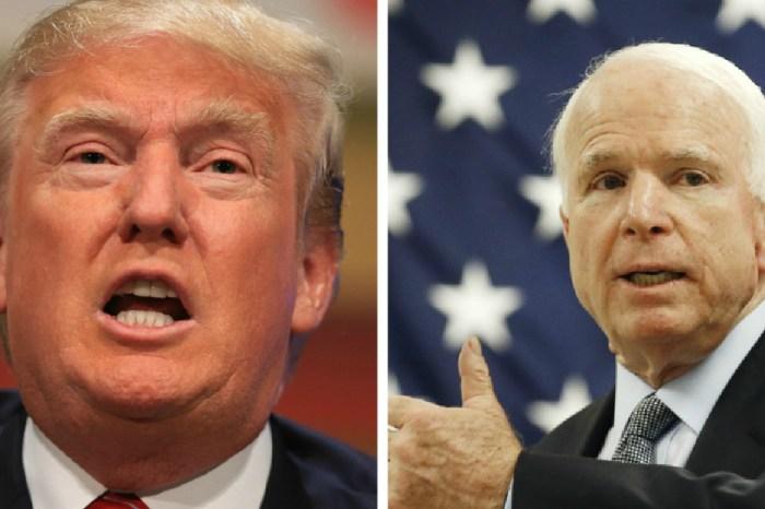 John McCain slams President Trump for his decision to pardon former Sheriff Arpaio