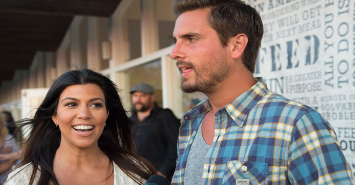 Kourtney Kardashian responds to Scott Disick's latest antics by showing him what he's missing