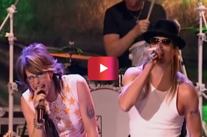 "Aerosmith and Kid Rock Teamed Up on ""Sweet Emotion"" for a Classic Performance"