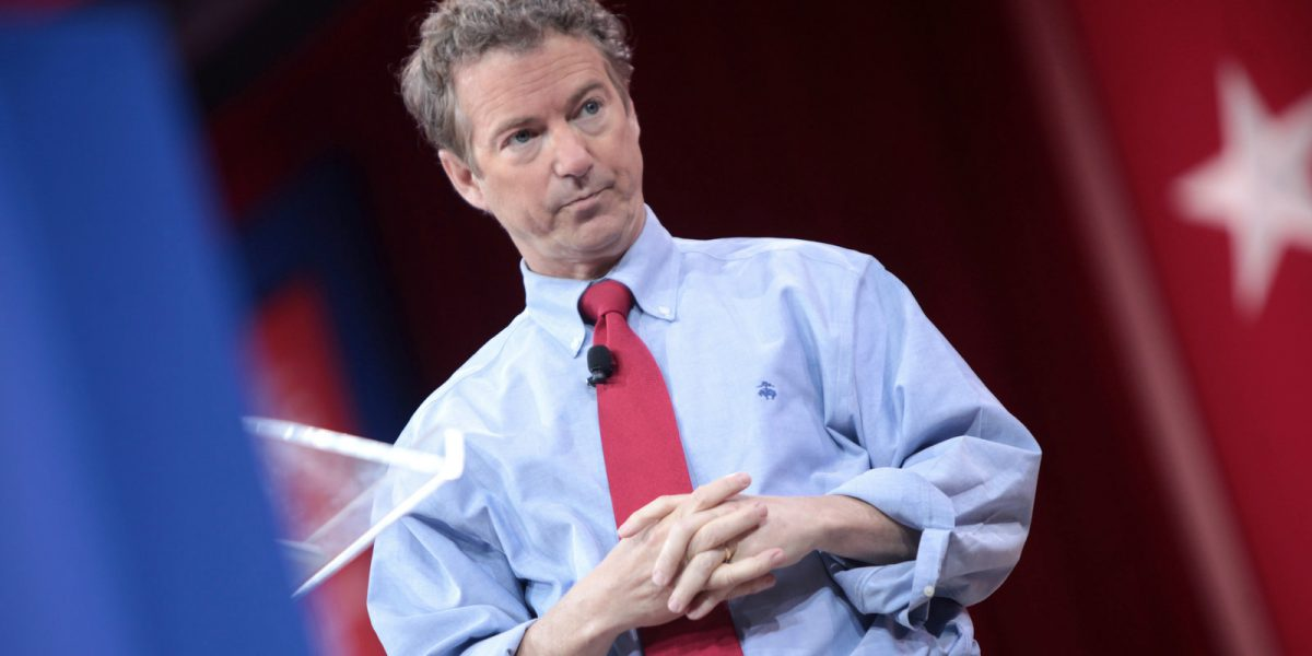 Rand Paul blasts Republicans for trying to add $9.7 trillion to the debt in the name of repealing Obamacare