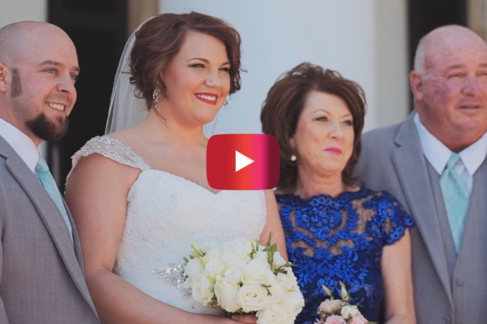 This mom shared a heartwarming letter on her daughter's wedding day that is sure to give you all the feels