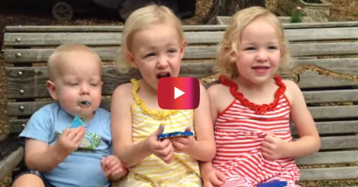 These kids couldn't care less about their mom's pretty big announcement