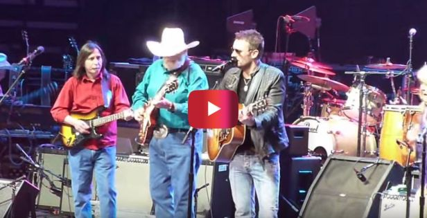 Eric Church shocks 'em all with this patriotic anthem at Charlie Daniels 40th Anniversary Volunteer Jam