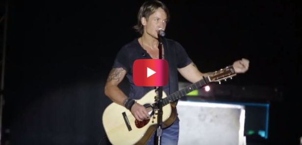 An 11-year-old girl got on stage with Keith Urban and completely blew him away