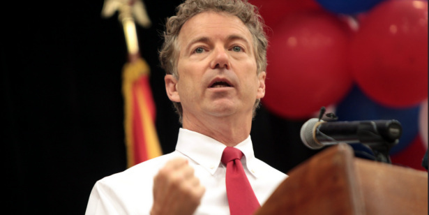 "Rand Paul holds up defense bill: ""I sit silently to protest the thousands of American soldiers who have died"""