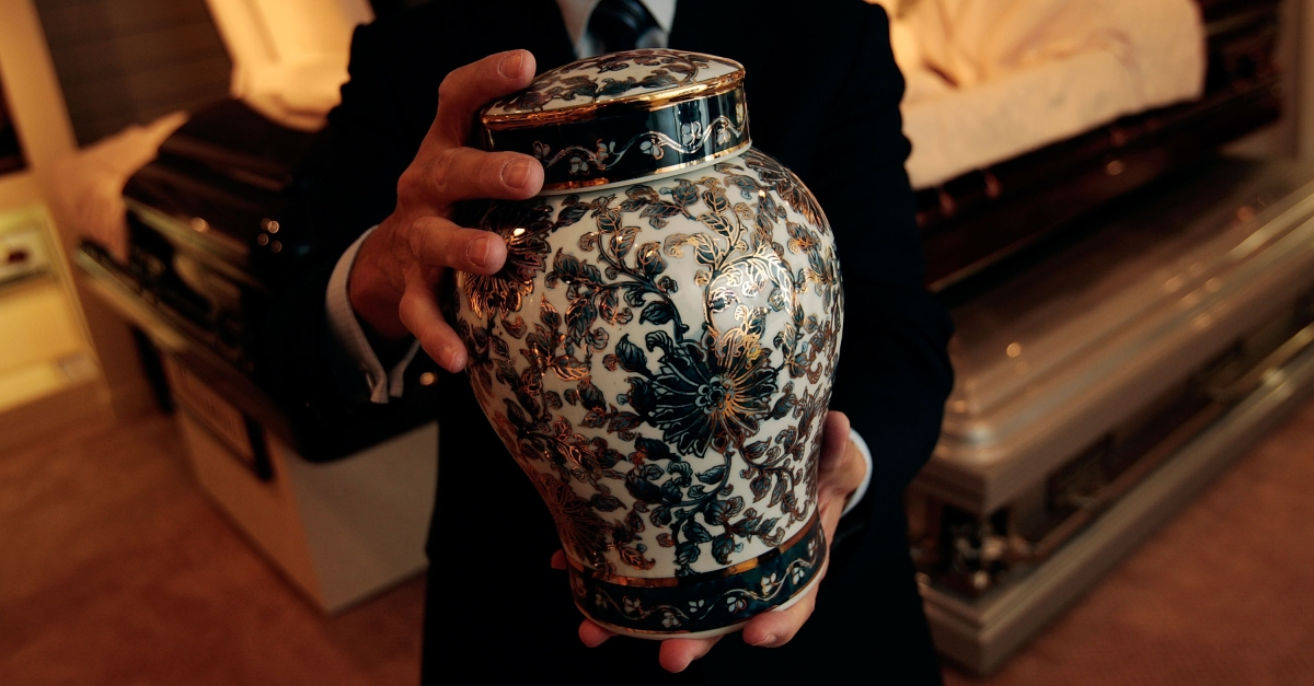 A woman may have been cremated alive after a hospital wrongly declared her dead