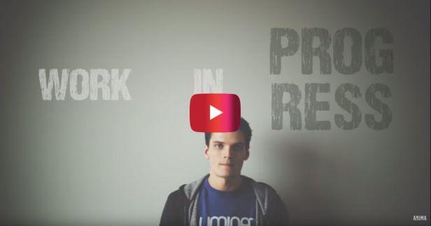 """Jon Jorgenson's spoken word poem speaks to those of us who are still a """"Work in Progress"""""""