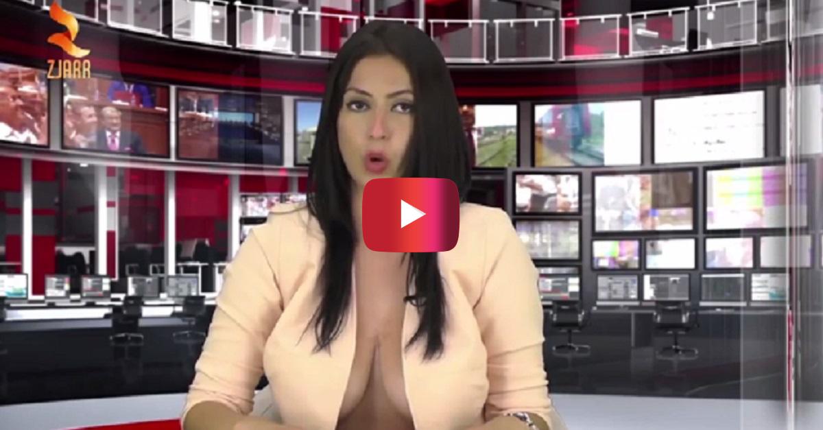 """This woman got a job as a news anchor in Albania for a pretty """"basic"""" reason"""
