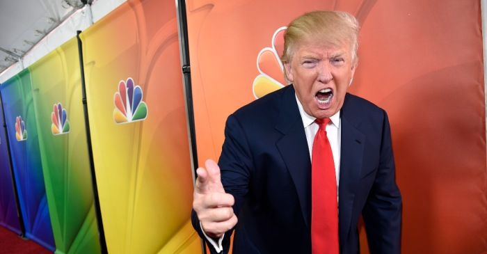 Donald Trump basically just came up with the idea of a fake news game show — but will he host?