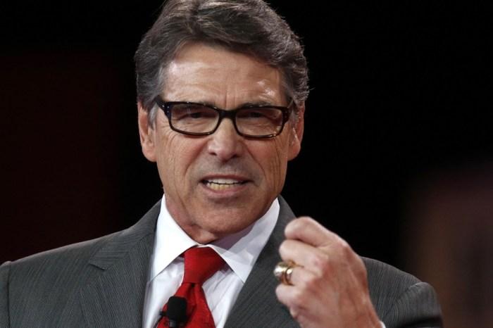 Trump considering former Texas Governor Rick Perry for Secretary of Homeland Security Job