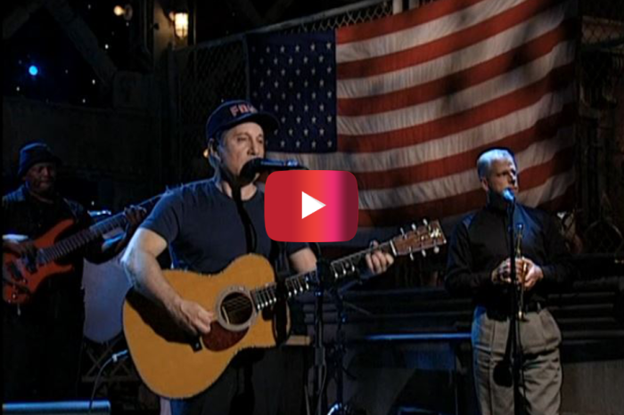 Paul Simon Delivered Bone Chilling Performance on SNL after 9/11
