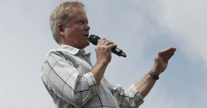Jim Webb is about to discuss some big news regarding his presidential run