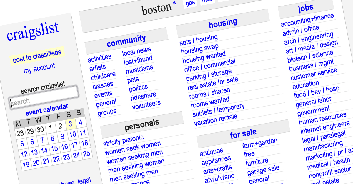10 ways to stay safe while using Craigslist   Rare