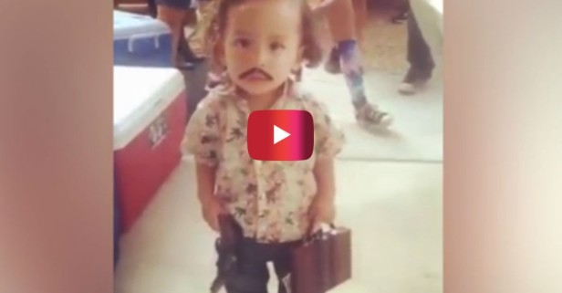 This little boy is going viral for his Pablo Escobar Halloween costume, but not everyone is amused