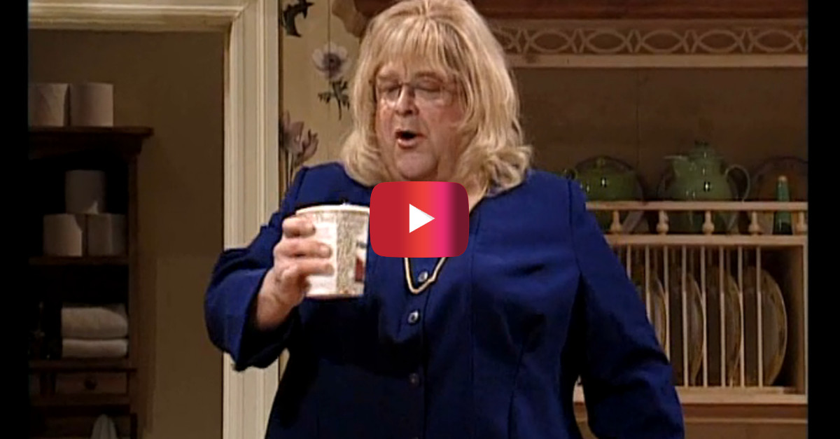 John Goodman's Linda Tripp impression is still one of the funniest SNL moments ever