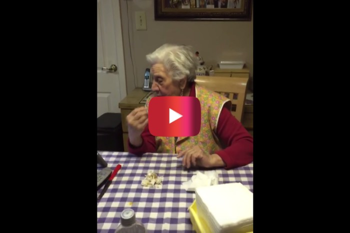 This Italian grandma hears some rap on the radio and has the best reaction