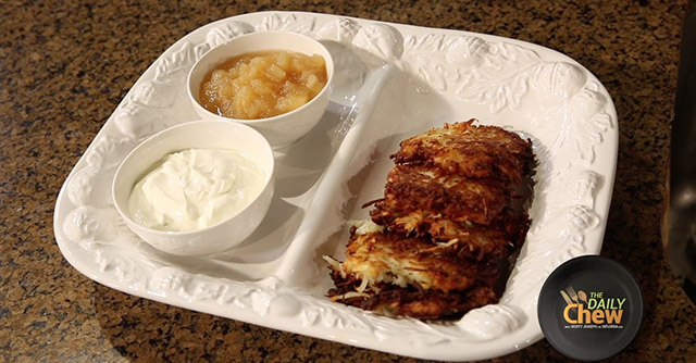 Whip up some delicious latkes this holiday season