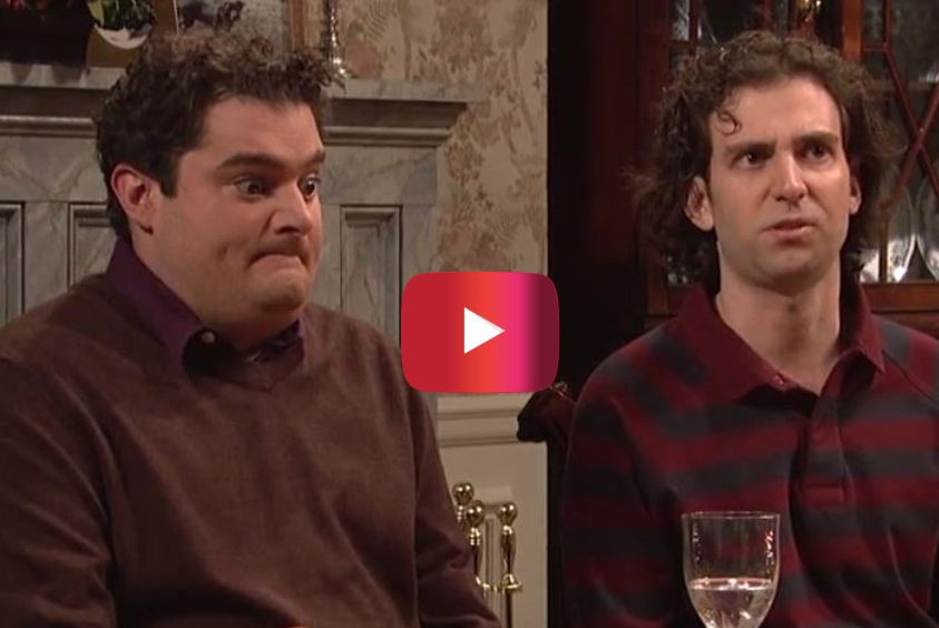 SNL Thanksgiving Sketch Shows the Most Awkward Girlfriend a Kid Can Bring Home
